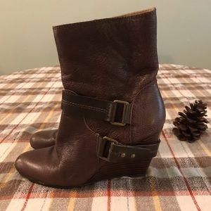 ⭐️NINE WEST⭐️ BROWN BOOTS SIZE 7.5